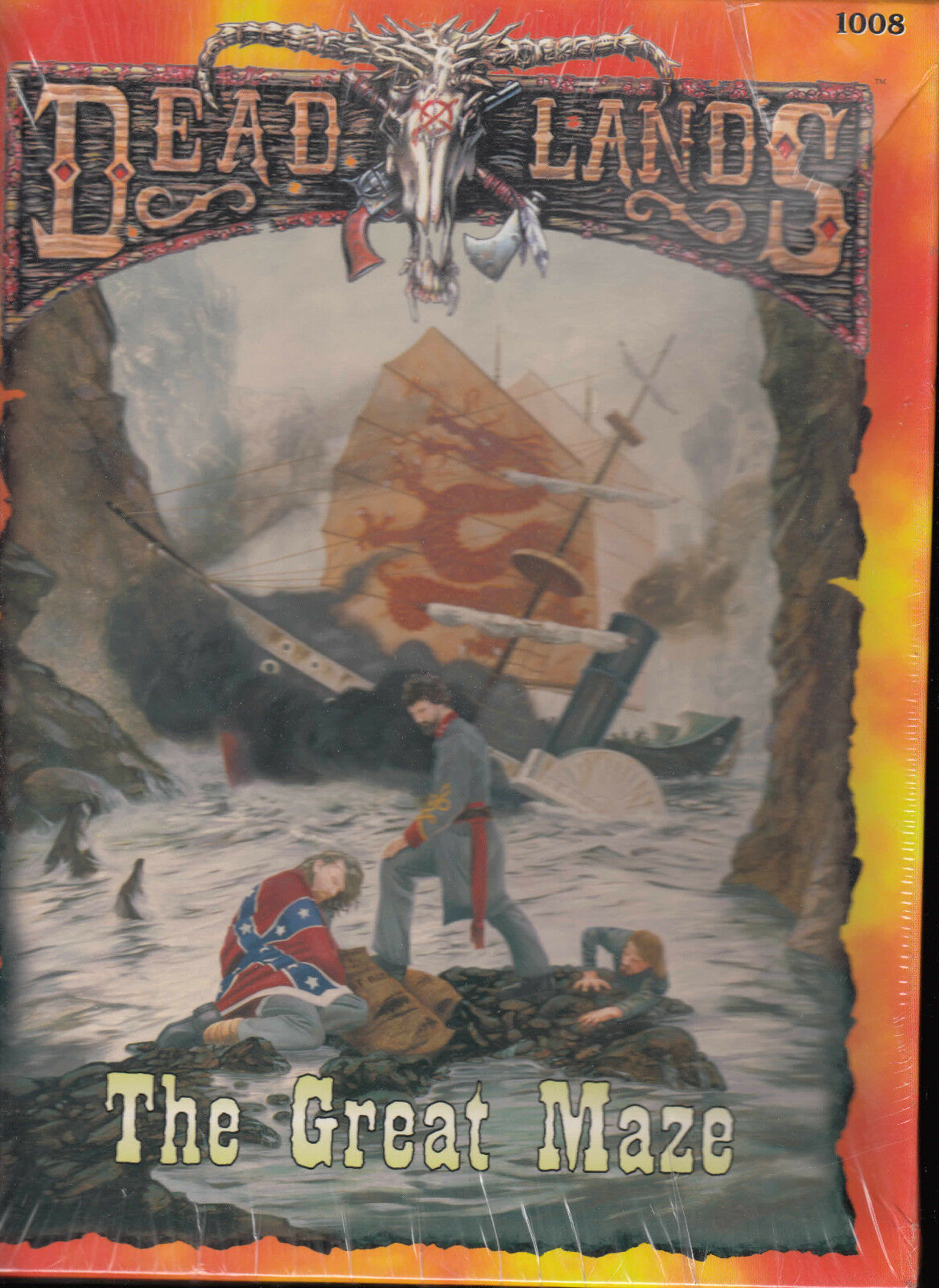 DEADLANDS - The Great Maze - Sourcebook in Box RPG NEW ENG 1008