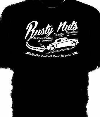 "/""Rusty Nuts Garage/"" Hillman Imp t-shirt"