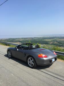 "Mint 2002 Porsche Boxster ""S""  Convertible"