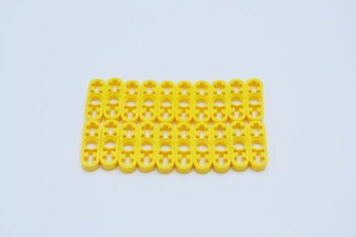 LEGO 20 x Technik Liftarm flach gelb Yellow Technic Liftarm 1x3 Thin 6632