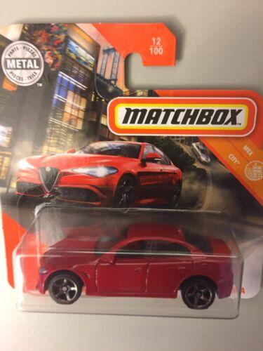 MATCHBOX 2020 ´16 ALFA ROMEO GIULIA