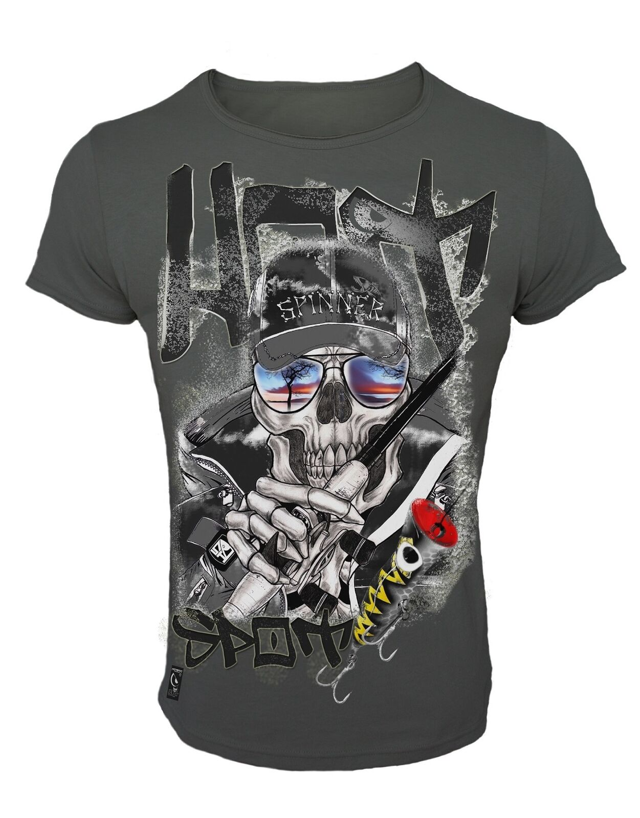 Angel T-Shirt T-Shirt T-Shirt Hot Spot Skull Collection - M-XXL - HotSpot Design 881914