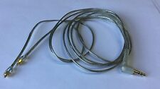 Clear Cable for Shure SE535SE425SE315SE215SE846 headphone Replacement
