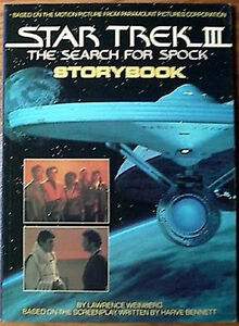 1984-Star-Trek-III-Search-for-Spock-Storybook-Hardcover-Book-UNREAD