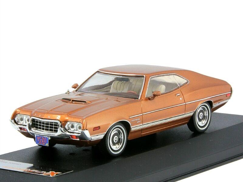 Ford Gran Torino Sport-oro 1972 PremiumX 1 43 PRD153