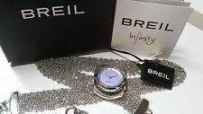 Orologio Donna BREIL INFINITY Triplo Indosso Bracciale Collana Limited Edition!