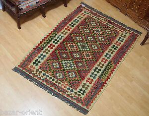 213x147 Cm Orient Teppich Afghan Turkmen Nomaden Planzenfarbe Kelim Kilim No:70 To Have A Unique National Style Persische Teppiche