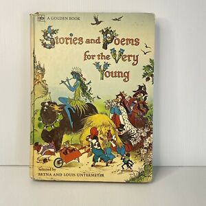 STORIES-AND-POEMS-FOR-THE-VERY-YOUNG-FROM-1973-FIRST-PRINTING-A-Golden-Book