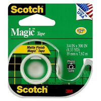 Scotch Magic Tape With Dispenser 1 Ea (pack Of 4) on sale
