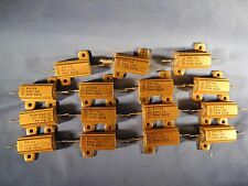 15 X Dale RH-25 Wirewound Resistor 400 Ohm 25W 3% Precision (Big Lot!) NOS