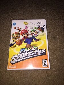 Video Games & Consoles Mario Sportsmix Wii With Artwork Only No Game