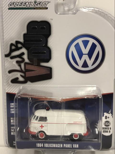 1964 Volkswagen Panel Van 1:64 Scale Greenlight 29960A