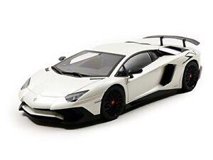 Autoart 1/18 Lamborghini Aventador Lp750-4 Sv Blanche Perle