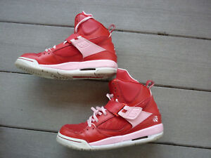 Rechazar Lugar de la noche Recordar  Nike Air Jordan Flight 45 High GS 547769-605 Shoes Sz: 6Y RARE Valentine  Edition | eBay