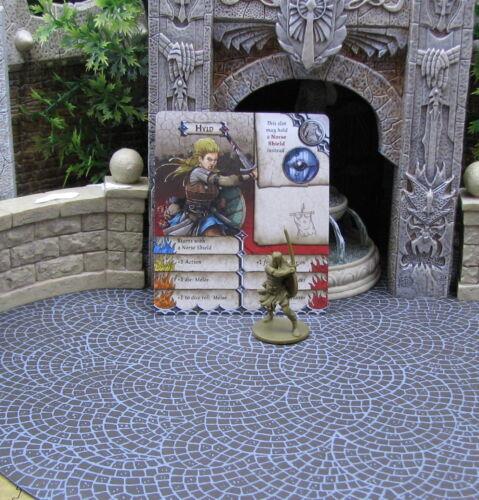 New Hyld Survivor Green Horde Zombicide CMoN  D/&D RPG minis 32 mm Kickstarter