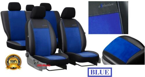 Eco-Leather Tailored Set Seat Covers For FORD RANGER Mk5  2012-2018 Alicante