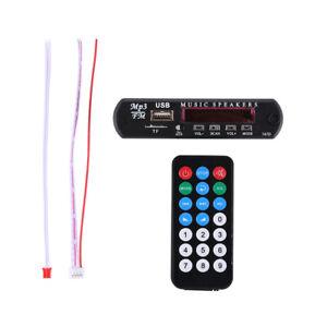 Heißer Verkauf Auto Musik MP3 WMA Decoder Platine 12V Audio-Decoder Board M /Neu
