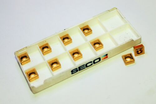 Lot of 10 SECO SCGX070308-P2 T200D Carbide Indexable Drilling Inserts