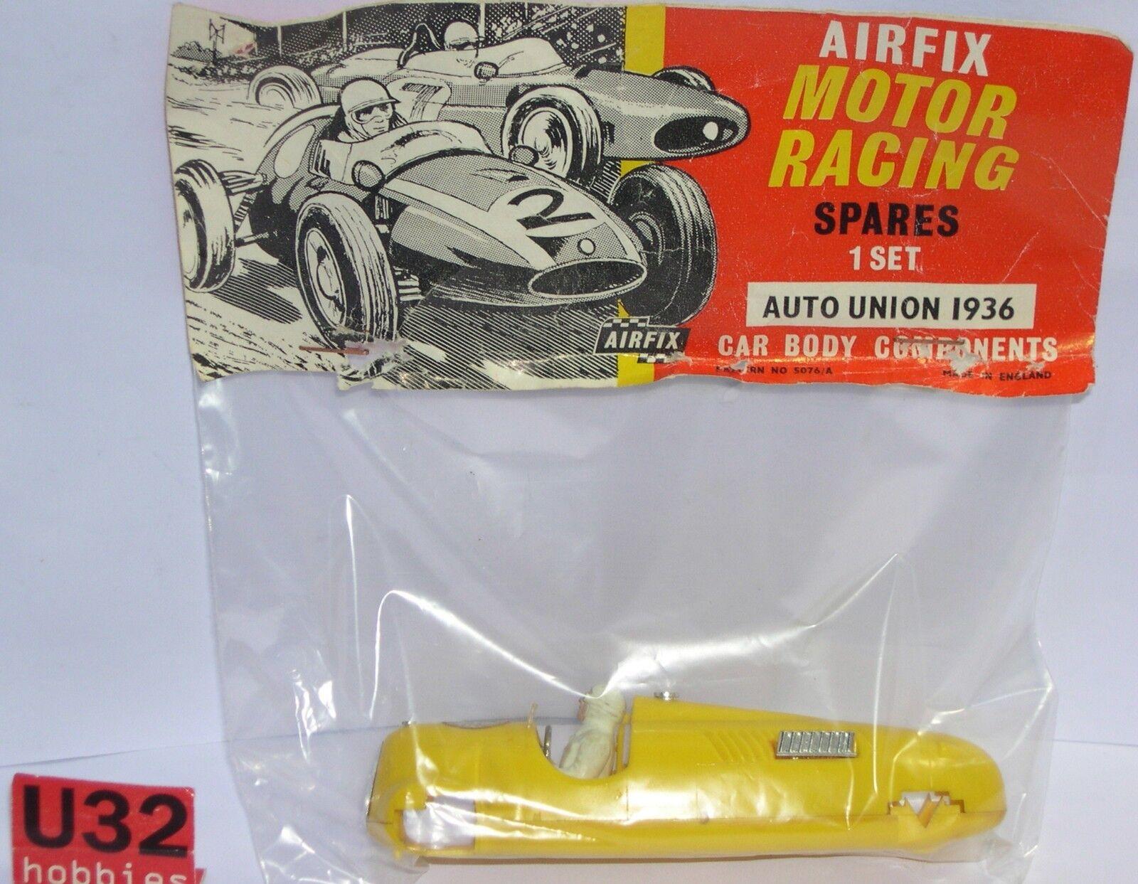 MRRC AIRFIX BODYWORK + CHASSIS CAR UNION F1 1936 EXCELLENT CONDITION