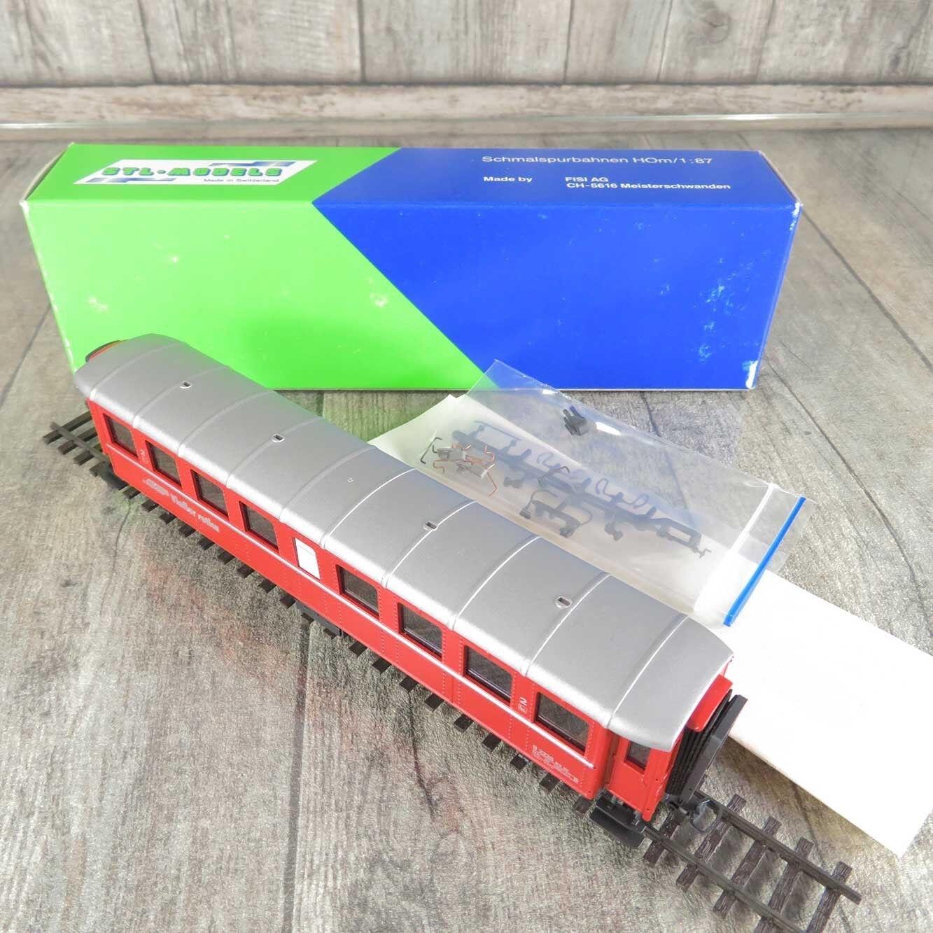 STL-Models 2202/5 - H0m - Personenwagen - RhB - 2.Kl. - OVP -  C15577