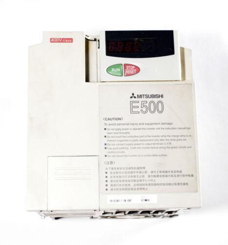 Mitsubishi frequency inverter 380-480V 6.9A 0-400Hz 4A 1.5 KW FR-E540-1.5K-CHT