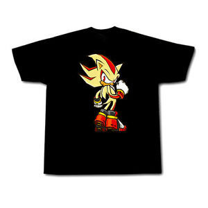 Sonic Hedgehog Maglietta Shadow RagazziEbay Super The PXTiOkZu