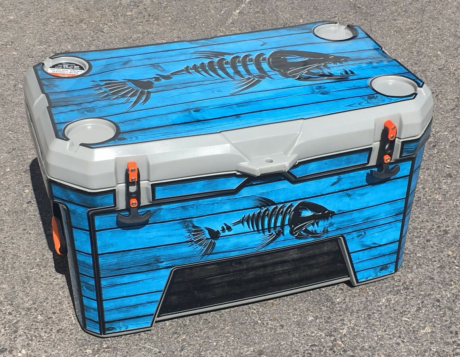USATuff Custom Cooler Decal Decal Cooler Wrap fits Ozark Trail 52qt FULL Old Glory 6739c3