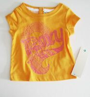 Roxy Infant Girls Sunbeams T-shirt Apricot Sz 6-12m -