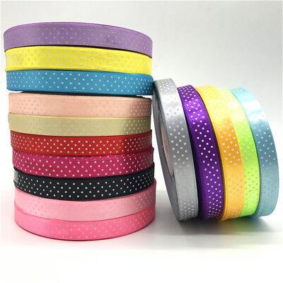 """5Yards 5//8/"""" 15mm Grosgrain Ribbon Hair Bow Wedding Decoration DIY Sewing"""