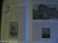 Professor Leschetizky Vienna Conservatoire Epstein Music Antique Article 1898