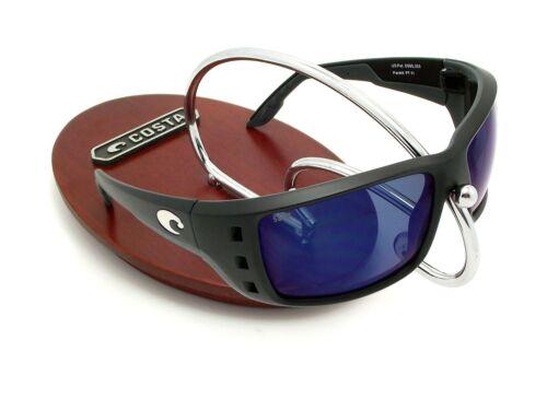 4fe94a2af9d2c 2 of 5 NEW Costa Del Mar PERMIT Black   580 Blue Mirror Plastic 580P
