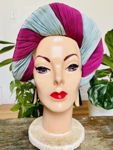Vintage 1940's Ladies' Turban Headband Hat, Art De