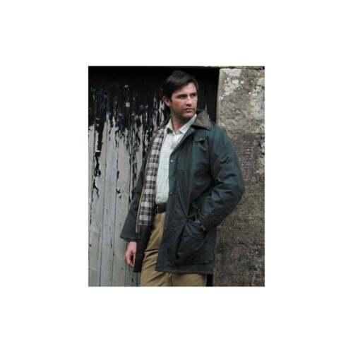 Jacket Of Hoggs Olive Classic Padded Waxed Fife British grrqCwYd