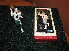 Hallmark Keepsake Troy Aikman Dallas Cowboys NFL Football Legends Ornament 1997
