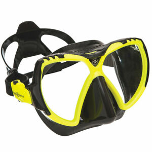 UWFUN24: Aqua Lung Tauchermaske Mission schwarz/hot lime
