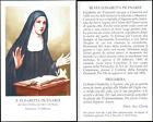 HOLY CARD SANTINO IMAGE PIEUSE - B. ELISABETTA PICENARDI - dei servi di Maria