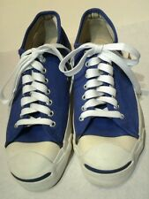 VINTAGE CONVERSE JACK PURCELL MADE IN USA BLUE SNEAKERS SHOES CANVAS/NICE