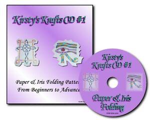 Kirstys Krafts Iris Folding Cd 1 Templates Patterns Card