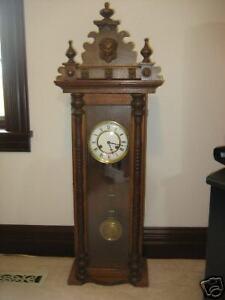 Unique Old Antique Clock Age India 39 5 In Tall Ebay