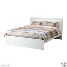 Ikea Malm Full High Bed Frame with Slatted Bed Base White 890.697.79