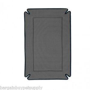 "KH Mfg 37"" Odor Control Dog Pet Crate Kennel Bed Mat Pad Gray"