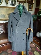 SALE Vintage 60's/70's Hammersley Wool Cashmere Double Breasted Pea Coat.Medium.