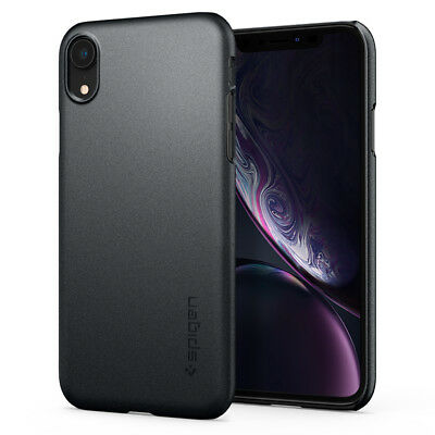 iPhone XR 10R | Spigen® [Thin Fit] Ultra Slim Protective Shockproof Case Cover