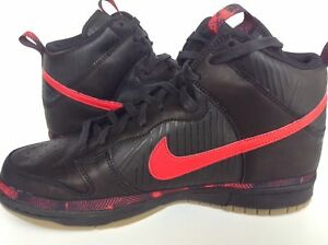 new concept 81689 4a821 Image is loading Nike-Dunk-HI-PRM-N7-AA1126-001-Black-