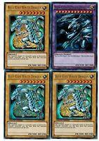 Blue-eyes Ultimate Dragon Fusion Lc01+ 3 X Ultra Blue- Eyes White Dragon Yugioh