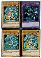 Blue-eyes Ultimate Dragon Fusion Lc01+ 3 X Ultra Blue- Eyes White Dragon Yugioh
