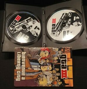GTA-III-PC-2CD-Rom-Rockstars-PAL-Pc-Computer-Game-Complete-French-Francais