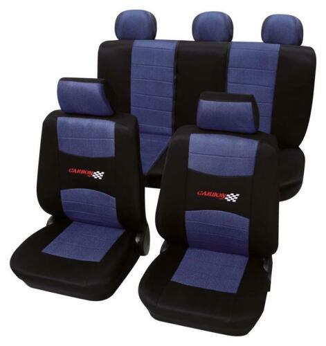 Nissan Terrano II ab 1993-2004 kurzer Radstand Sitzbezug Autoschonbezug Carbon b