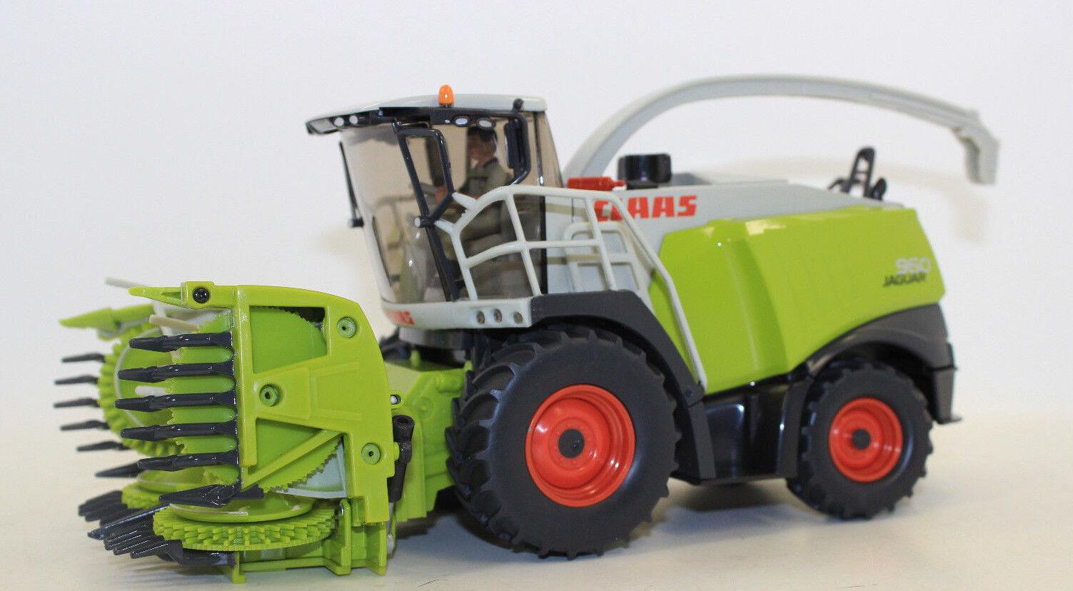 SIKU 4058 CLAAS CLAAS CLAAS JAGUAR 960 HACHEUSE 1:3 2 nouvelles en emballage d'origine | Les Produits De Base Sont  06c04c