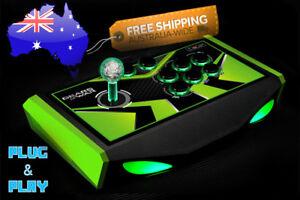 Details about Arcade Joystick USB Controller PC Mac Raspberry Pi Encoder  Kit LED Push Buttons